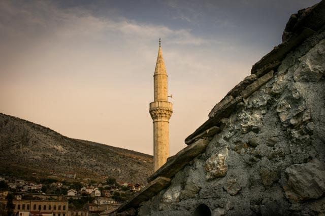 Gamlebyen i Mostar.
