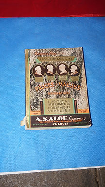 1930s A S Aloe Surgical Instruments Equipment Supplies Catalog