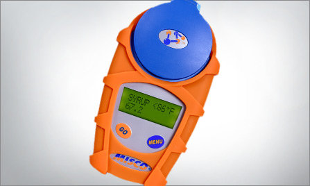 Refractometer with Rubber Armor Jacket
