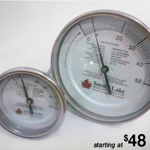"0-50 Thermometer (3"" Dial, 9"" Stem)"