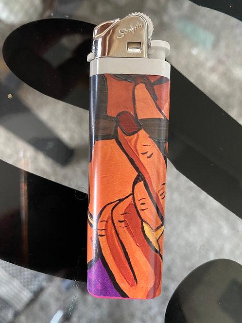 Purple AVO Lighter