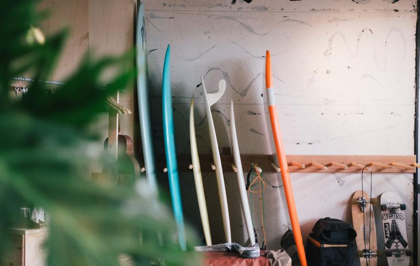 Surfbord rocker