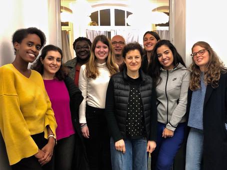 Atelier du 19/11/2019 : Communiquer avec aisance en situation nouvelle