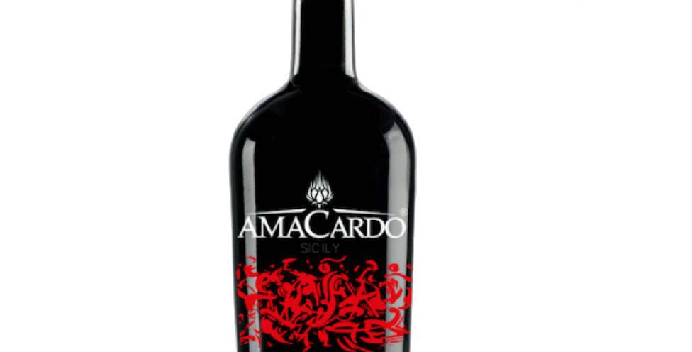 AMACARDO RED (Amaro di Arancia e Carciofino) - 0,500 L. - 30°