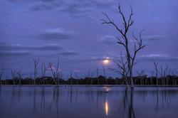 Boshack Lake in Moonlight