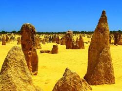 Rock Spire in Pinnacles Desert