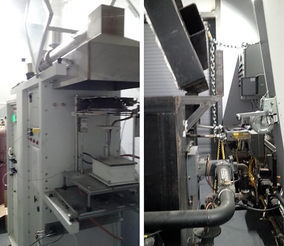 Quantum Test Furnaces for fire resistance, smoke and toxicity testing.