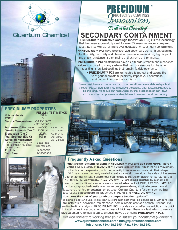 Secondary Containment Cut Sheet