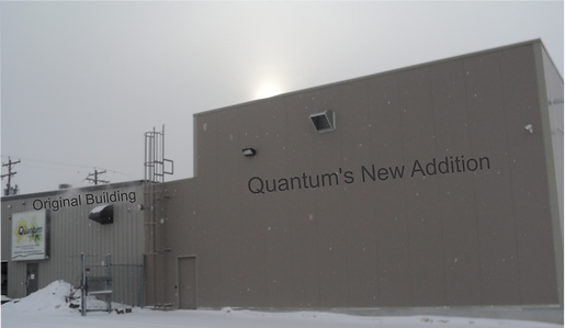 Quantum Chemical Facility Addition increases lab and production space.