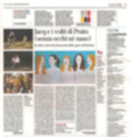 Articolo di Jacq a Il Corriere della Ser