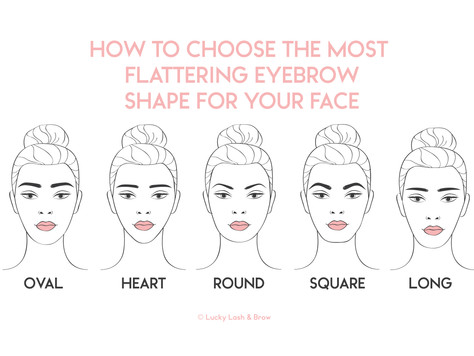 Here's How To Choose The Most Flattering Eyebrow Shape For Your Face