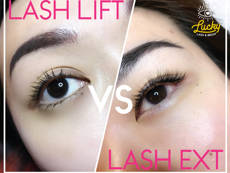 Lash Lift vs Lash Extensions: Which One Should You Get?