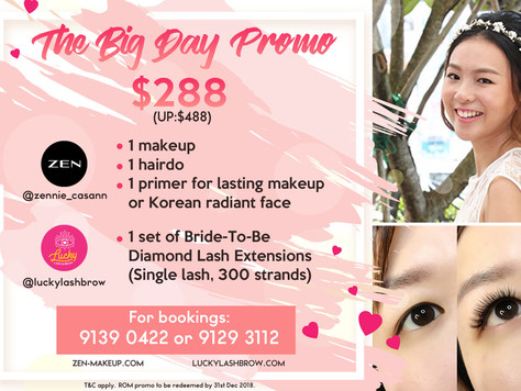 Look Your Best On Your Wedding With Our Big Day Promo