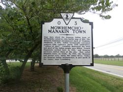 Manakin Town Sign