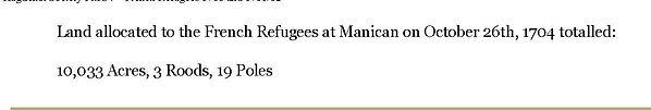 Huguenot Society FMCV - French Refugees