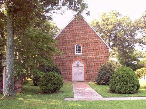 Huguenot Society FMCV 12 Manakin Church-