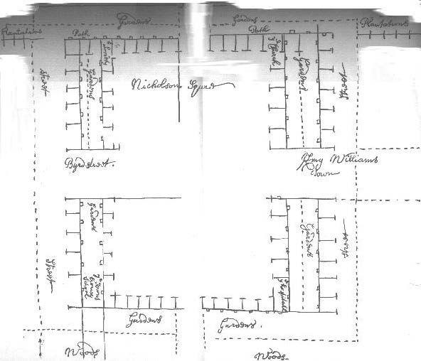 Huguenot Society FMCV - Map of Manakin T