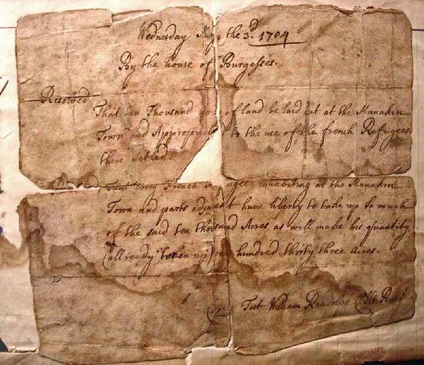 Huguenot Society FMCV - Landgrant 1704.j