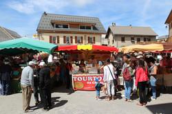 Le marché d'Ancelle