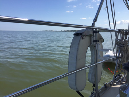 Hurricane Delta, Boat Chores, a Beautiful Day at Anchor, and the Fiction of Nonfiction