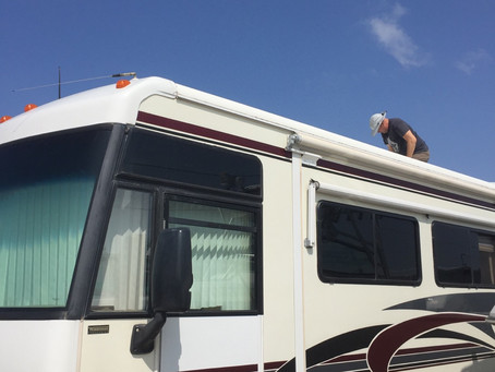 Tropical Storm Beta, RV Maintenance, and the Joys of Other People's Boats