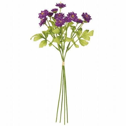 フリンジデージーバンドル(パープル) アーティフィシャルフラワー 造花