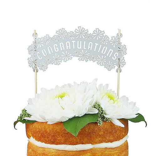 Congratulations ケーキトッパー〔DM配送可〕