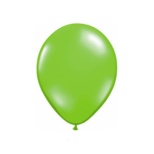 "【Qualatex】11""R Jewel Lime 風船 ジュエルライム 10枚〔DM配送可〕"