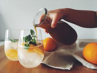 【しょうがでポカポカ】自家製オレンジジンジャーシロップの作り方