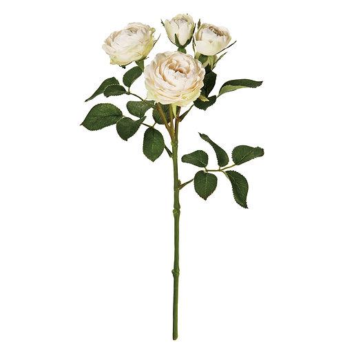 メリンダローズ(クリーム) アーティフィシャルフラワー 造花