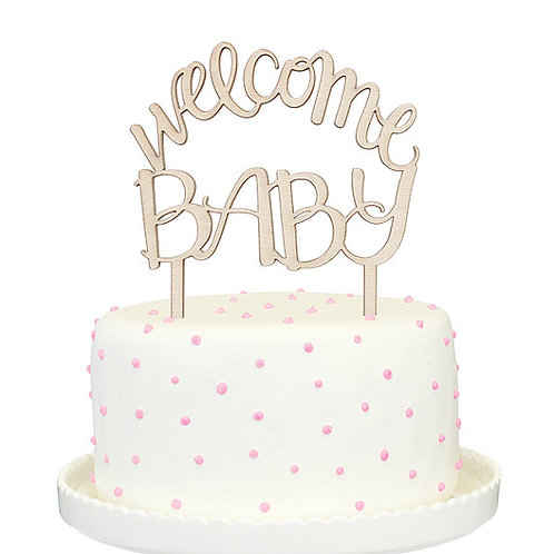 Welcome Baby ケーキトッパー〔DM配送可〕