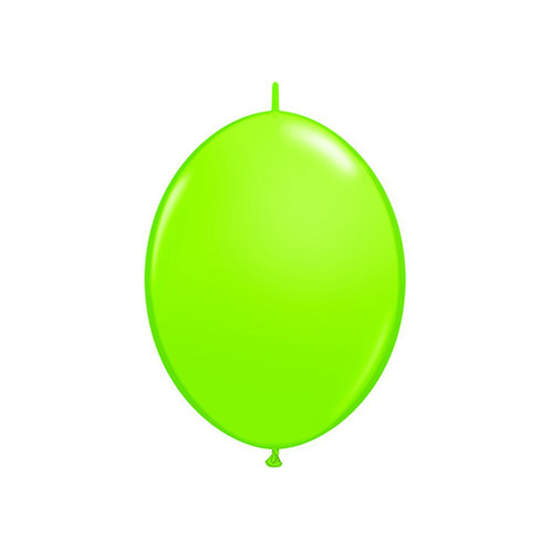 """【QuickLink】6""""Lime Green つながる風船  ライムグリーン 10枚〔DM配送可〕"""