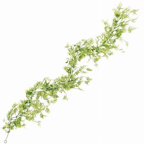 レースファーン ガーランド アーティフィシャルフラワー 造花