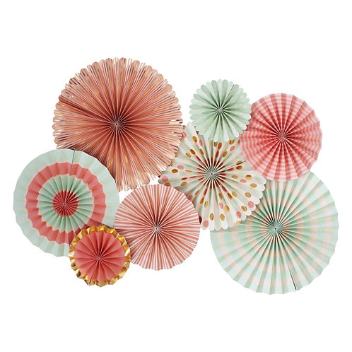 10%OFF アウトレット(箱折れ)My Mind's Eye ペーパーファン(Trend Paper Fans)