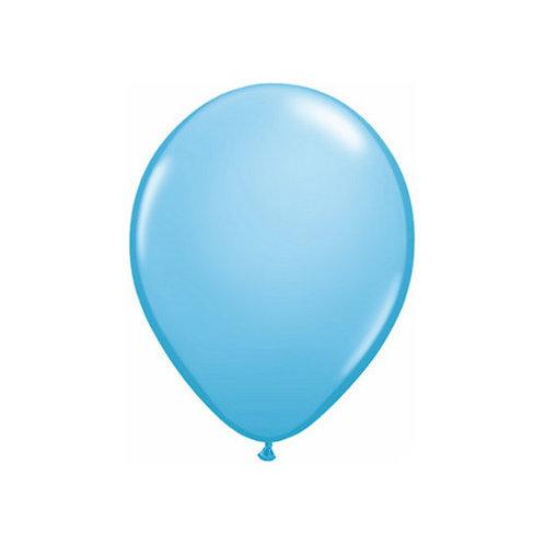 "【Qualatex】11""R Pale Blue 風船 ペイルブルー 10枚〔DM配送可〕"