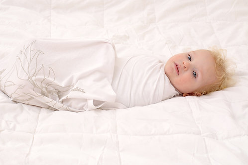 おくるみ(Flannel Flower)|オーガニックコットンの出産祝い