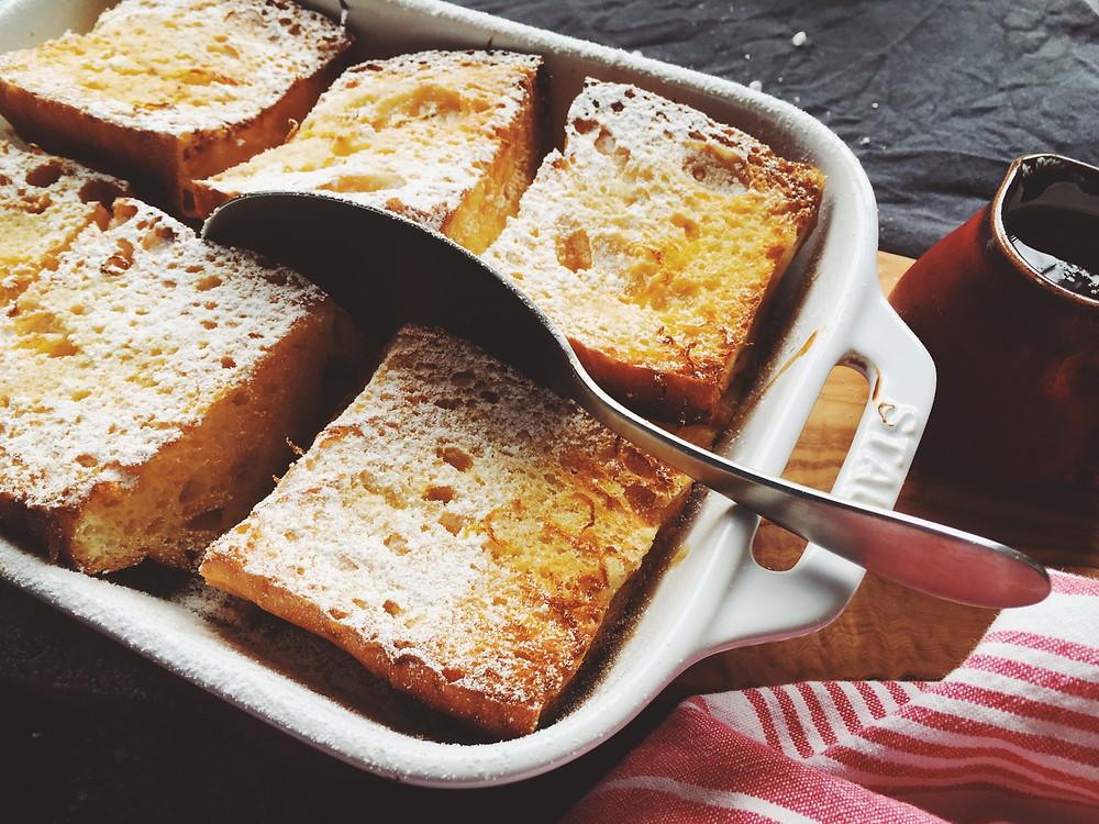 フレンチトーストのレシピ(作り方)
