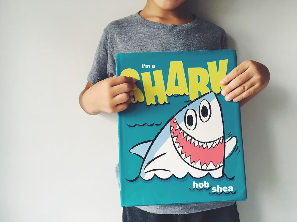 英語絵本 I'm a shark