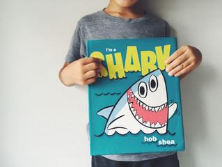【チャーミングなサメのおはなし】I'm a shark by Bob Shea