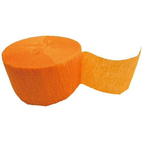クレープストリーマー(オレンジ)