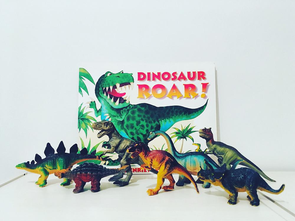 おすすめの英語絵本 Dinosaur Roar