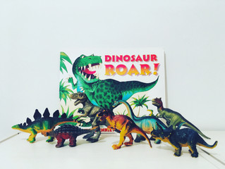 【英語絵本を読もう】Dinosaur Roar by Paul and Henrietta Stickland