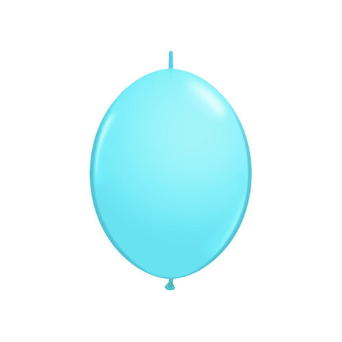 "【QuickLink】6""Pale Blue つながる風船  ペイルブルー 10枚〔DM配送可〕"