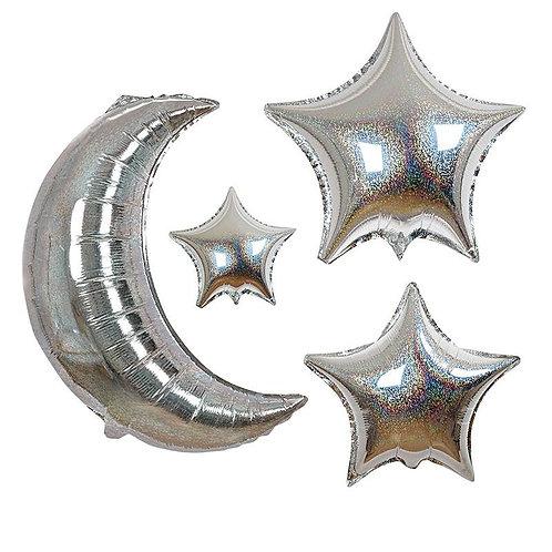 Meri Meri お月さまとお星さまのバルーンセット