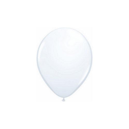 """【Qualatex】5""""R White 風船 ホワイト 10枚〔DM配送可〕"""