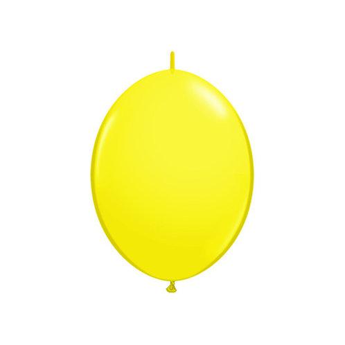 "【QuickLink】6""Yellow つながる風船  イエロー 10枚〔DM配送可〕"