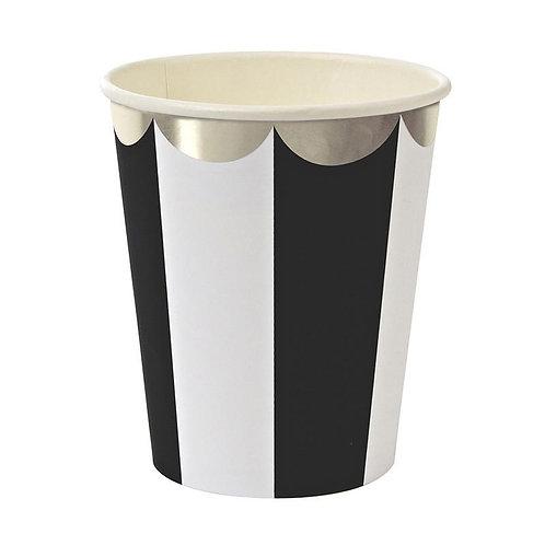Meri Meri TOOT SWEET ペーパーカップ(ブラック)