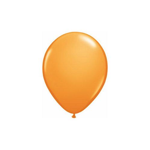 "【Qualatex】5""R Orange 風船 オレンジ 10枚〔DM配送可〕"
