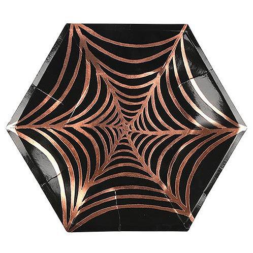Meri Meri クモの巣 ペーパープレート