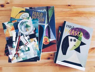 【こどもとアート】雨の週末を格上げ♡Sticker Art Shapes: Pablo Picasso